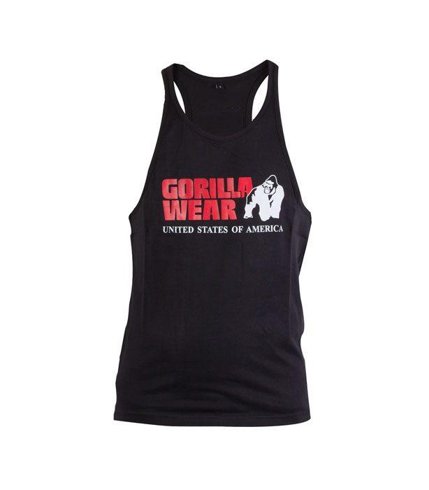 Gorilla Wear - Classic Tanktop - Zwart - Voorkant