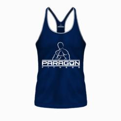 Paragon Fitness Bodybuilding Stringer Singlet Blauw