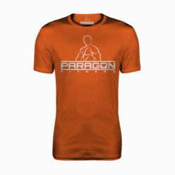 Paragon Fitness Bodybuilding T-shirt Oranje