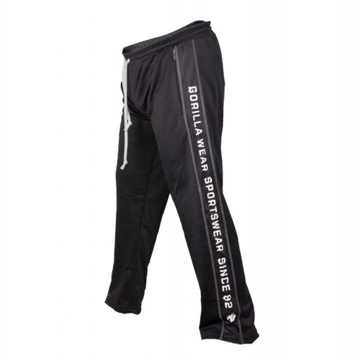 Gorilla Wear Functional Mes Pants zwart/wit - zijkant links