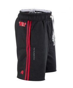Gorilla Wear Functional Mesh Short zwart/rood - zijkant alternatief