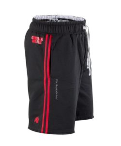 Gorilla Wear Functional Mesh Short zwart/rood - zijkant alternatief