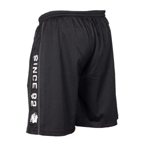 Gorilla Wear Functional Mesh Short zwart/wit - achterkant