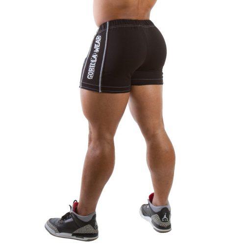 Gorilla Wear Hotpant Heavy Short zwart - achterkant