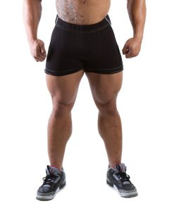 Gorilla Wear Hotpant Heavy Short zwart - voorkant