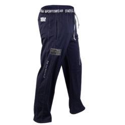 Gorilla Wear Logo Mesh Pants blauw - zijkant