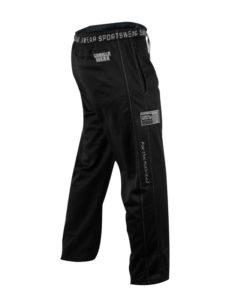 Gorilla Wear Logo Mesh Pants zwart - zijkant
