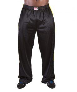 Gorilla Wear Track Pants zwart/geel - voorkant