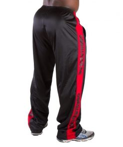 Gorilla Wear Track Pants zwart/rood - achterkant