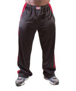 Gorilla Wear Track Pants zwart/rood - voorkant
