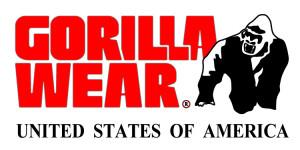 Gorilla Wear Bodybuilding Kleding Shirts Tanktops Stringer Singlets logo