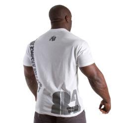 Gorilla Wear 82 Tee wit - achterkant