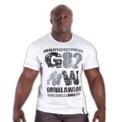 Gorilla Wear 82 Tee wit - voorkant