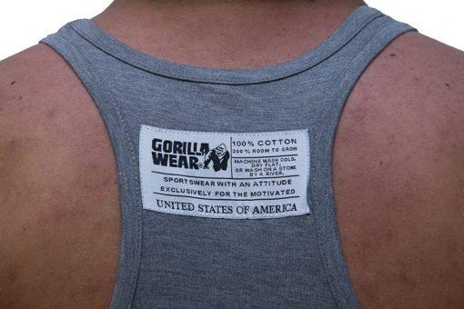 Gorilla-Wear-Classic-Tanktop-Grijs-detail3