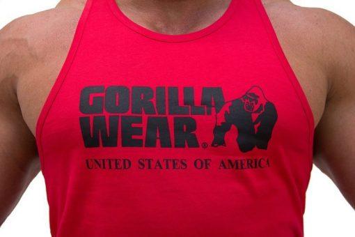 Gorilla-Wear-Classic-Tanktop-Rood-detail1