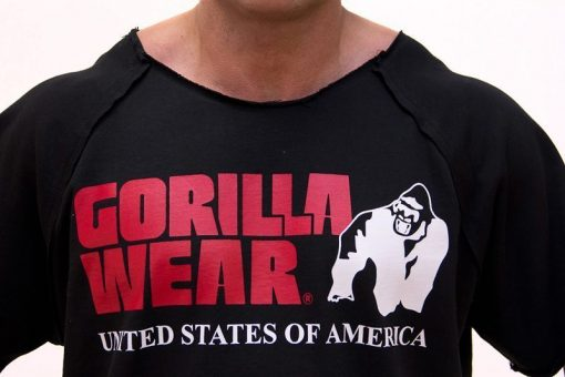Gorilla-Wear-Classic-Work-Out-Top-Zwart-detail1