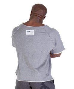 Gorilla Wear Classic Work Out Top grijs - achterkant