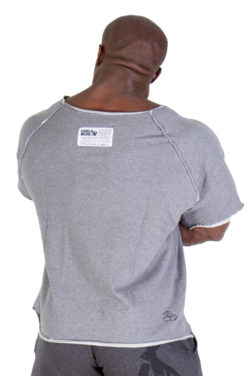 Gorilla Wear Classic Work Out Top grijs - achterkant