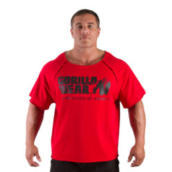 Gorilla Wear Classic Work Out Top rood - voorkant