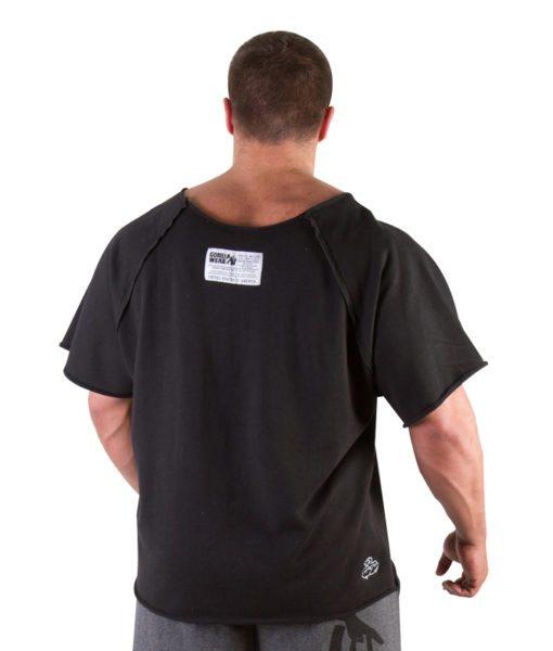 Gorilla Wear Classic Work Out Top zwart - achterkant