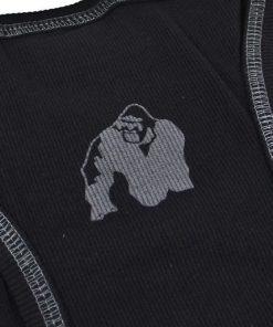 Gorilla-Wear-G!wear-Rib-Tanktop-Zwart_Grijs-detail2