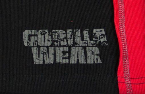 Gorilla-Wear-G!wear-Rib-Tanktop-Zwart_Rood-detail1