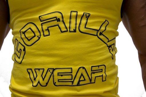 Gorilla-Wear-Logo-Stringer-Singlet-Geel-detail1