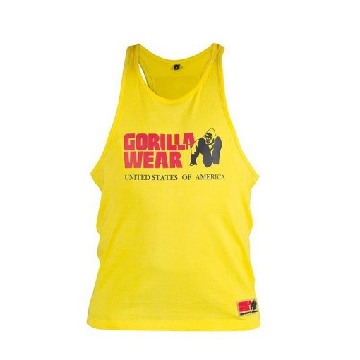 GORILLA-WEAR-CLASSIC-TANK-TOP-GEEL-1