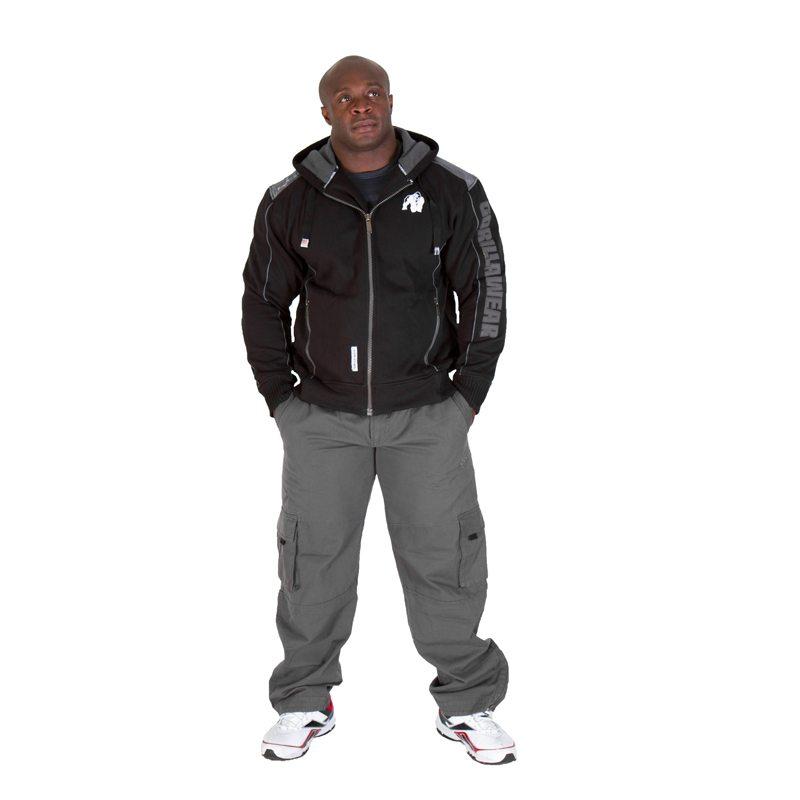 Gorilla-Wear-82-Jacket-Zwart-1