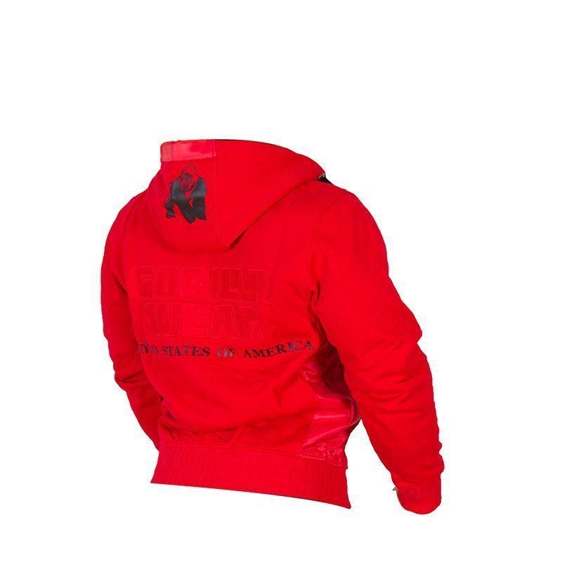 Gorilla-Wear-Logo-Hooded-Jacket-Rood-4