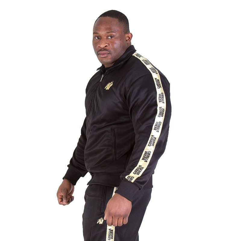 Gorilla-Wear-Track-Jacket-Goud-1