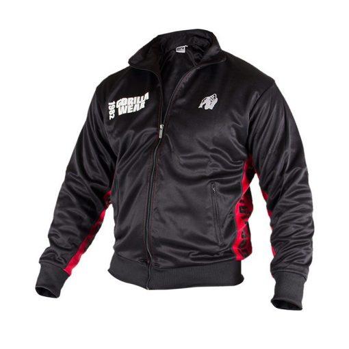 Gorilla-Wear-Track-Jacket-Zwart_Rood-3