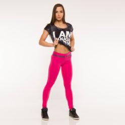 Nebbia Batik 864 - Sportshirt Dames Zwart-2
