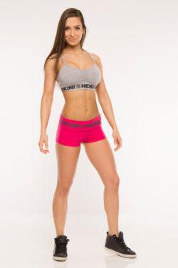 Nebbia Elastic Shorts 863 - Sportshort Dames Roze-1