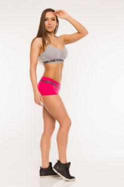 Nebbia Elastic Shorts 863 - Sportshort Dames Roze-2