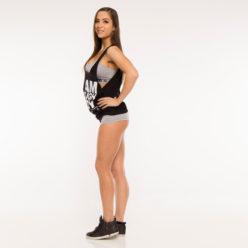 Nebbia Hard 870 - Fitness Singlet Dames Zwart-3