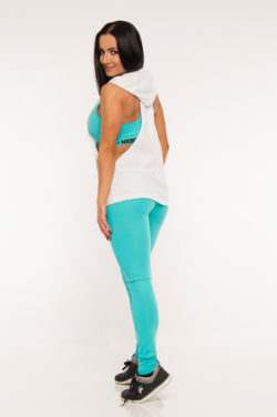 Hooded Singlet Wit - Nebbia 273-2