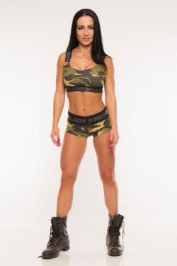 Nebbia Shorts Camo 845 - Sportshort Dames-1