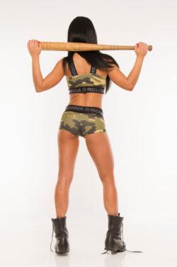 Nebbia Shorts Camo 845 - Sportshort Dames-2