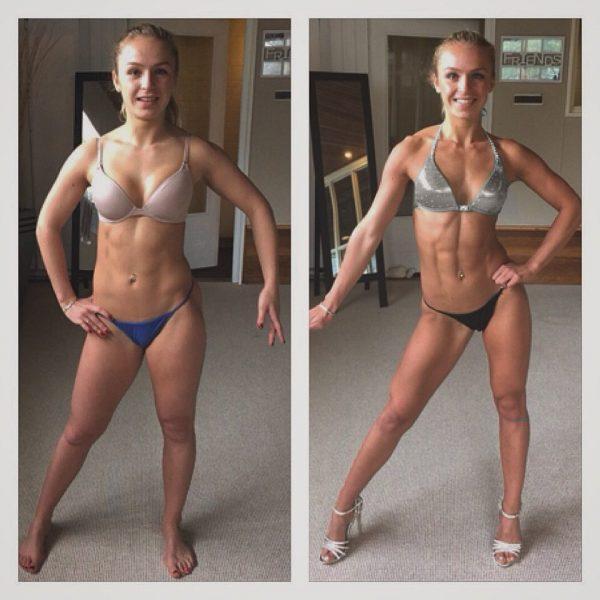 Larissa van Meerten Bodybuilding Kleding Atleet progressie foto walters open