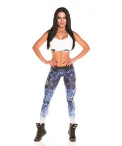 Nebbia Art Collection - Sportlegging Dames Blauw-1