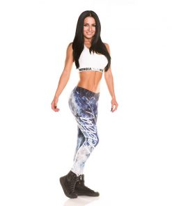 Nebbia Art Collection - Sportlegging Dames Blauw-2