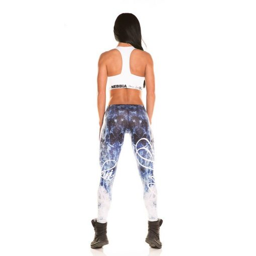 Nebbia Art Collection - Sportlegging Dames Blauw-3