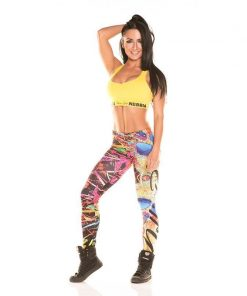 Nebbia Art Collection - Sportlegging Dames Disco-1