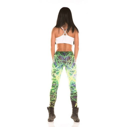 Nebbia Art Collection - Sportlegging Dames Groen-2
