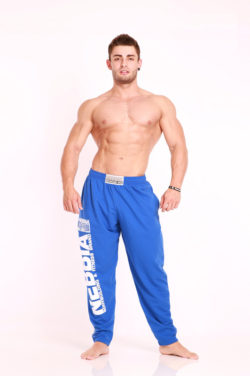 Nebbia Fitness Pants 910 - Fitness Broek Blauw-1