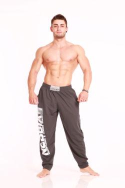 Nebbia Fitness Pants 910 - Fitness Broek Grijs-1