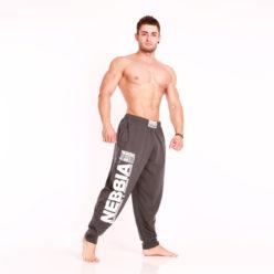Nebbia Fitness Pants 910 - Fitness Broek Grijs-2