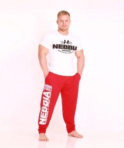 Nebbia Fitness Pants 910 - Fitness Broek Rood-1