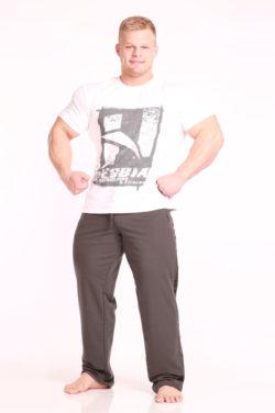Nebbia Fitness Pants 966 - Fitness Broek Grijs-1
